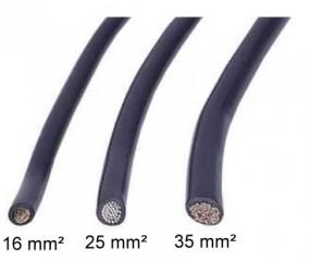 KFZ-Leitung 25 mm² lfm.