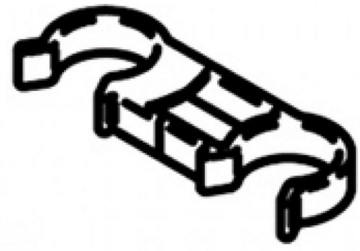 Rahmenhalter Omnibike Rundform