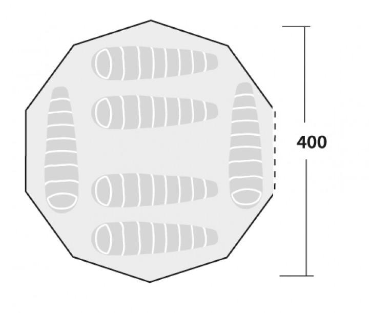 Robens Klondike Zelt 6 Personen