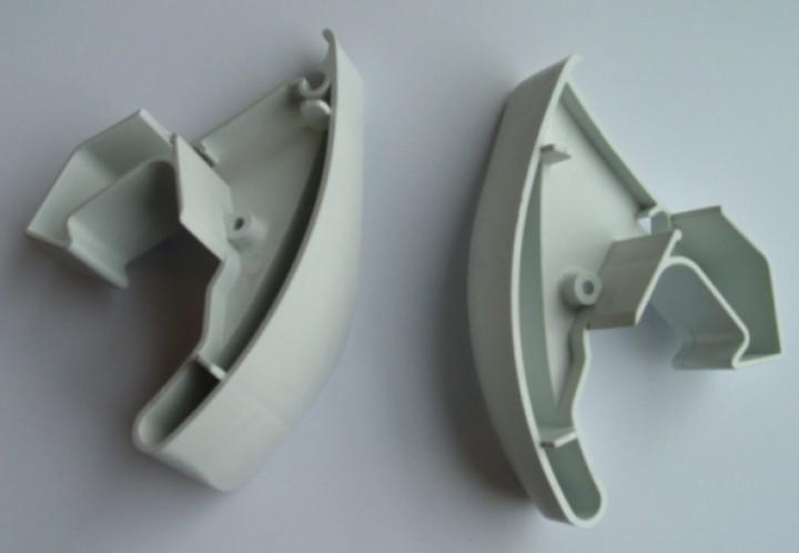 Frontblendenendkappen Thule Omnistor 6502 / 6802 / 6900 weiß