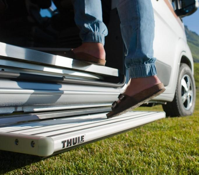 Thule Omnistor Trittstufe Omnistep electric Slide-Out 400 Alu