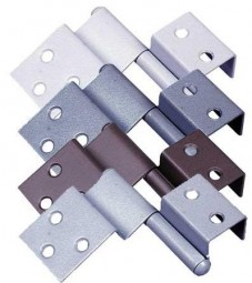 Spezialscharnier für Türen rechts dunkelgrau