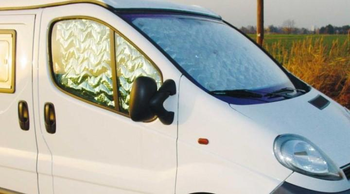 Fahrerhaus Thermomatten Renault Kangoo ab 08