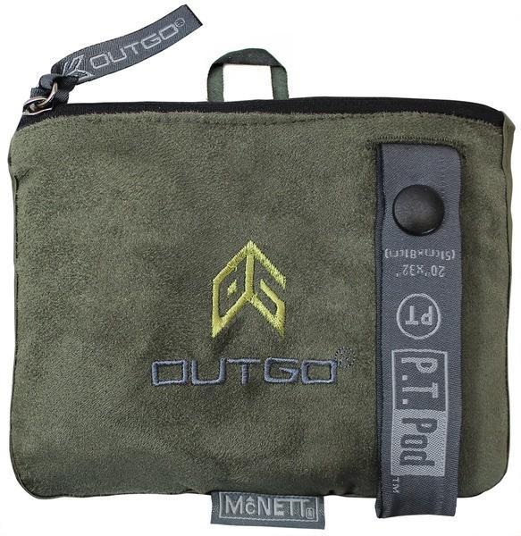 McNett Outgo Handtuch 'PT Pod' moosgrün