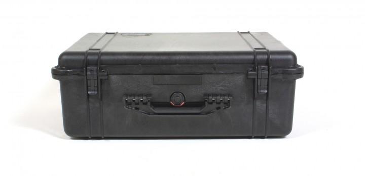 Pelibox 1600 schwarz mit Schaumeinsatz
