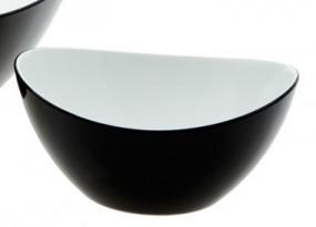 Gimex Salatschale klein schwarz