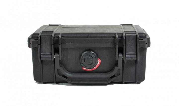 Pelibox 1120 schwarz mit Schaumeinsatz