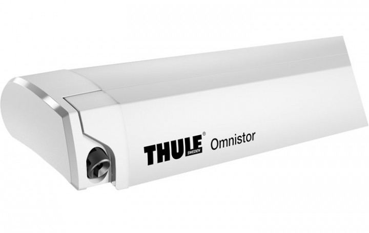 Thule Omnistor 6200 weiß Länge 2,6 m Alaska-Grau