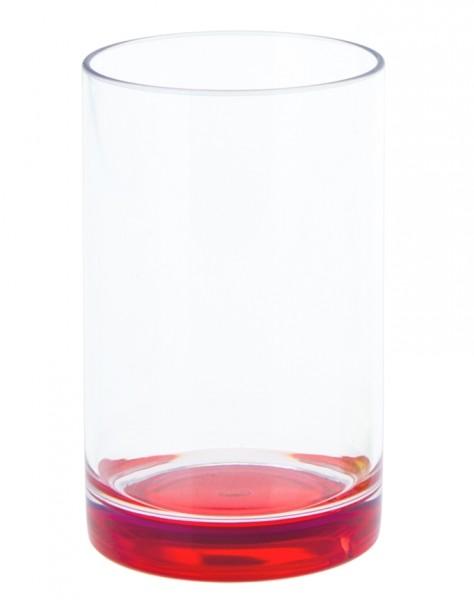 Trinkglas 250 ml rot