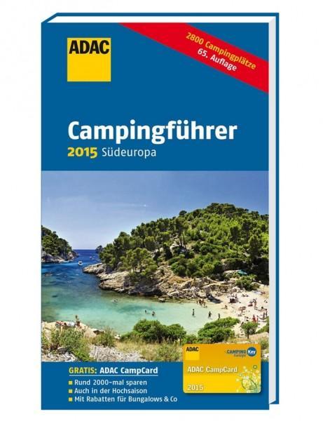 ADAC Camping-Caravaning-Führer Südeuropa 2015
