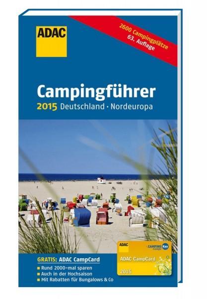 ADAC Camping-Caravaning-Führer Deutschland 2015