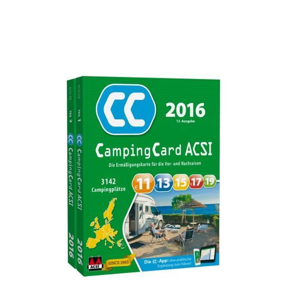 ACSI Camping Card 2016