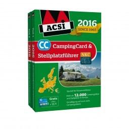 ACSI CampingCard & Stellplatzführer 2016