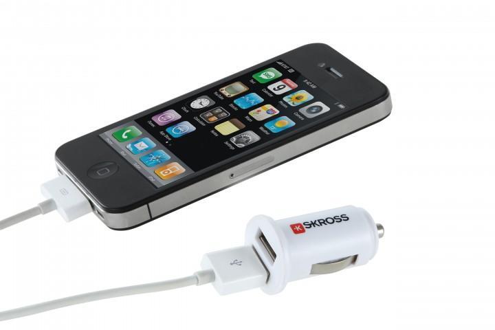 Skross Ladegerät '12V - USB' 2 USB Ausgänge