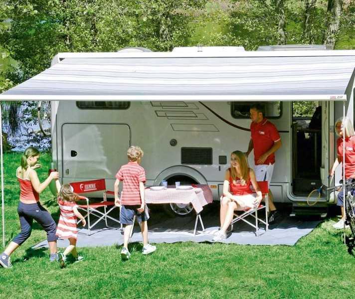 Fiamma Markise F45 L 500 Titanium Deluxe Grey Camping