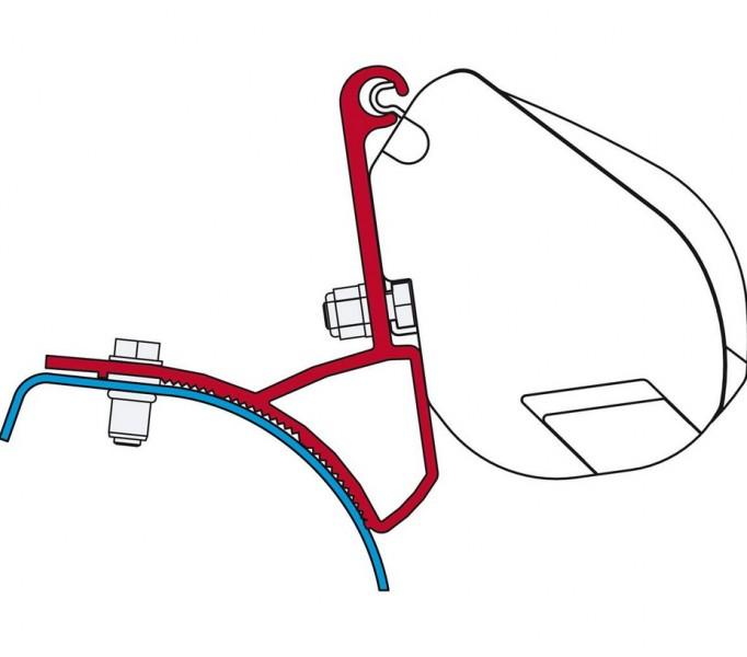 Fiamma Adapter Kit F35 Pro Kit Renault Trafic Opel Vivaro