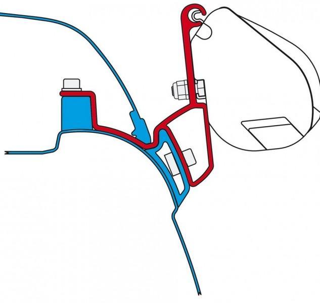 Adapter Kit F35 Pro Kit VW T5 California