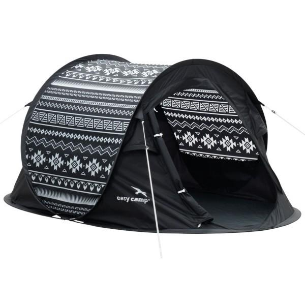 Easy Camp Pop-Up-Zelt Black & White