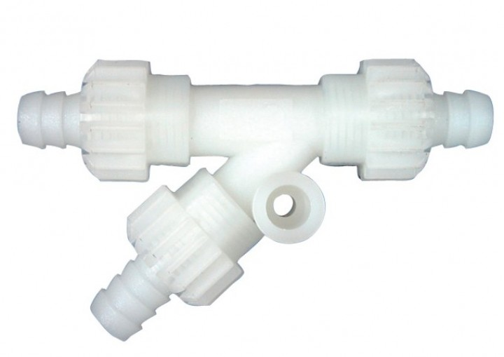 Y-Stück mit Muttern für Comet Wasserversorgungssystem X-Fix