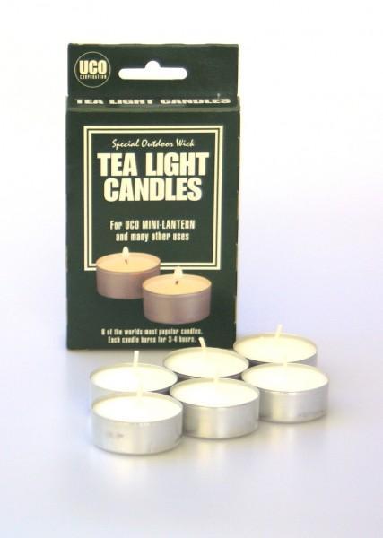 UCO Teelichter 6 Stück