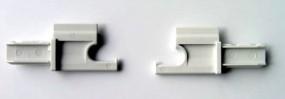 Ersatzteile für Rastrollo 2000 - Endstücke Paar (SP 663 + SP 664) für Rastrollo 2001