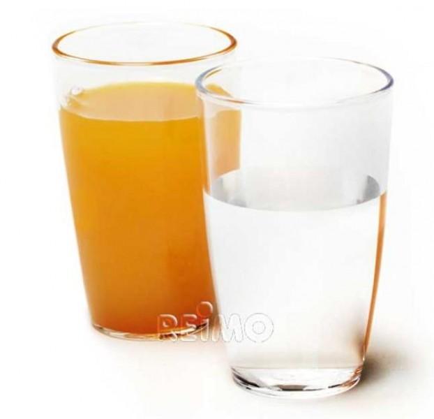 Polycarbonat Gläser Saft 300 ml 2 Stück