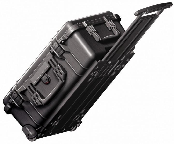 Pelibox Flightcase 1510 schwarz mit Schaum