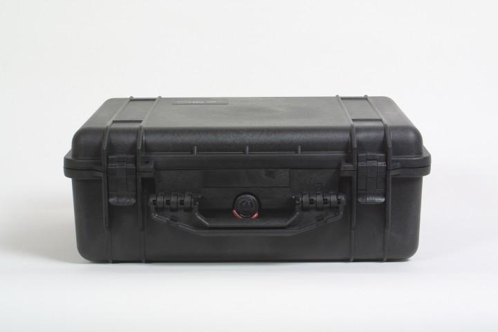 Pelibox 1520 schwarz mit Schaumeinsatz