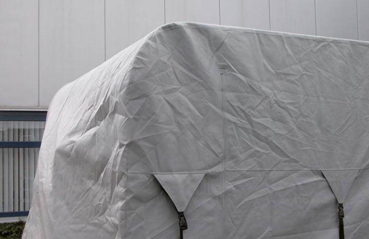 Wohnwagen-Schutzhülle 450-500 x 250 x 220 cm