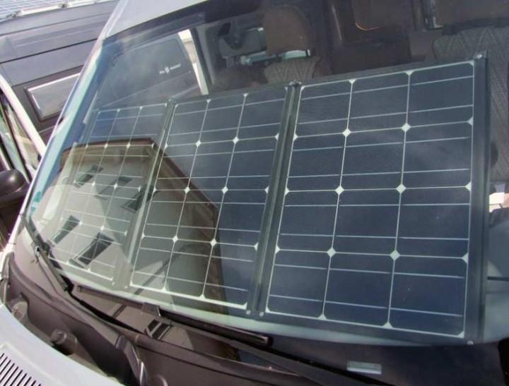 Faltbares Solarmodul 100 Watt