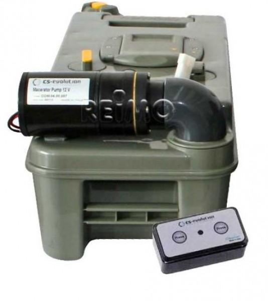 WC-Entleerung für Thetford C3 Cassette