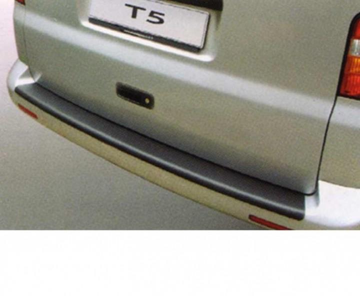 Ladekantenschutz für VW T5 schwarze Kunststoffstoßstange