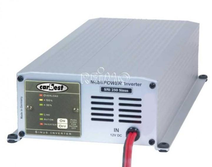 Carbest Wechselrichter 12 Volt sinus 300 W Netzvorrangschaltung