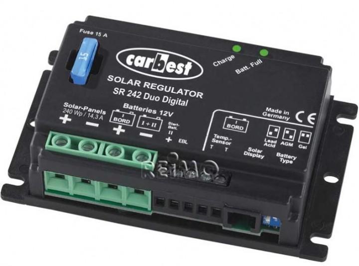 Carbest Solar-Regler SR243 Duo Digital