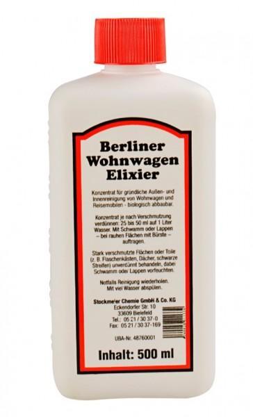 Berliner Wohnwagen Elixier 500 ml Flasche