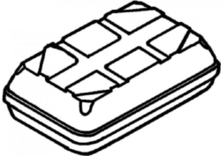Boden Top-Box 100 weiß