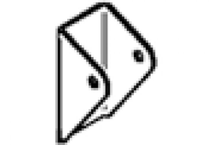 Befestigung Omni-Leiter, oben - Befestigung für Omni-Leiter 5-stufig