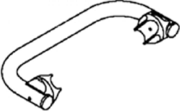 Klappbügel für Omni-Leiter double / Ducato bis '07