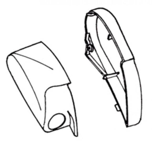 Endkappen Thule|Omnistor 6002 - Endkappe links Thule|Omnistor 6002 12V, weiß