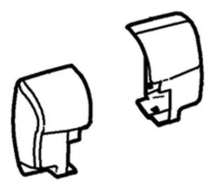 Endkappen Thule|Omnistor 8000 - Endkappe links Thule|Omnistor 8000, eloxiert