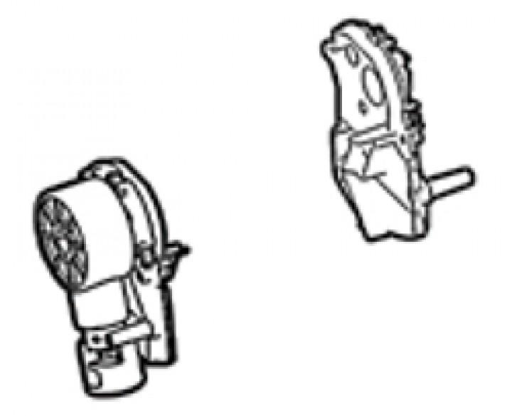 Endplatte Thule|Omnistor 5102 - Endplatte links inkl. Kurbelwerk Thule|Omnistor 5102