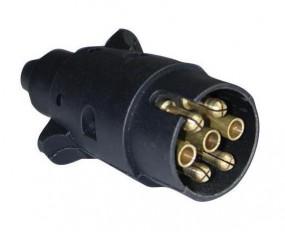Stecker 12 Volt 7-polig ISO 1724 PVC