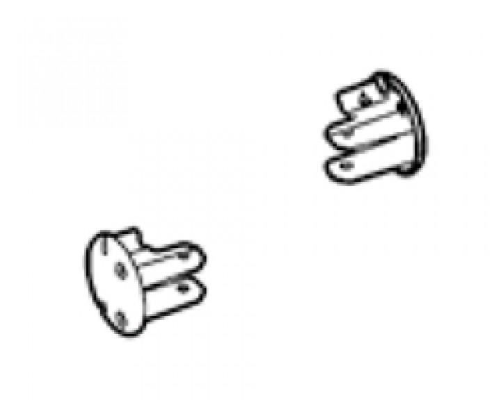 Frontblendenendkappen Thule|Omnistor Caravan-Style Satz links und rechts