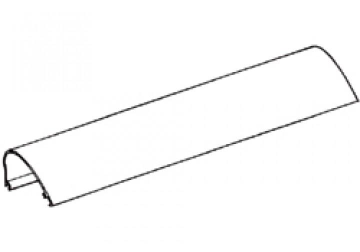 Gehäuse-Oberteil Thule Omnistor 6002 - Gehäuse-Oberteil 3,65m Thule Omnistor 6002 12V, weiß