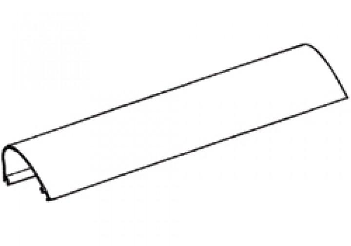 Gehäuse-Oberteil Thule|Omnistor 6900 - Gehäuse-Oberteil 4,00m Thule|Omnistor 6502 / 6802 / 6900, wei