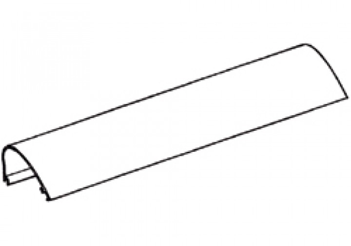 Gehäuse-Oberteil Thule|Omnistor 6900 - Gehäuse-Oberteil 5,50m Omnistor 6502 / 6802 / 6900, weiß