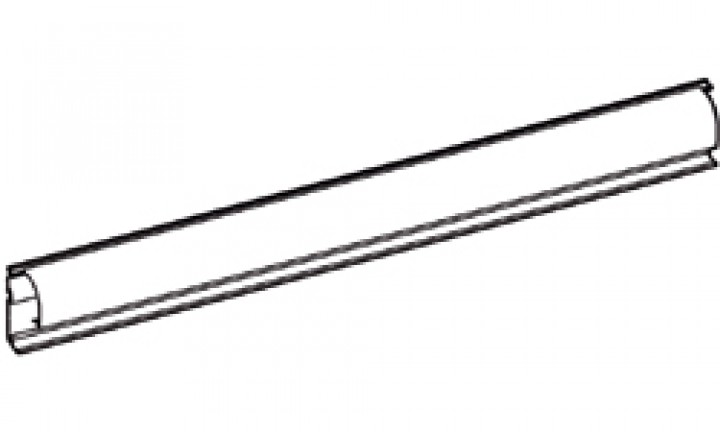 Gehäuse-Rückwand Thule|Omnistor 8000 - Gehäuse-Rückwand 4,50m Thule|Omnistor 8000, eloxiert