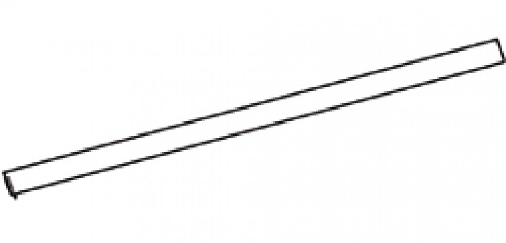 Gehäuse-Unterteil Thule|Omnistor 8000 - Gehäuse-Unterteil 5,50m Thule|Omnistor 8000, eloxiert