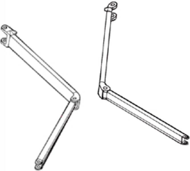 Gelenkarm Thule|Omnistor 6002 - Gelenkarm 2,50m, rechts - Omnistor 5000 / 5002 / 6000 / 6002 3,00-4,