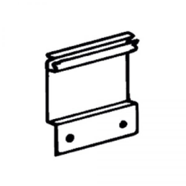 Montageplatte 8cm, 2 Stück Omnistor W150